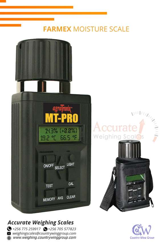 Accurate measurement four frequencies ensure that the measurement is steadier and its result is less susceptible to unusual samples, the risk of blips is lower and the repeatability is high. you can quickly measure the moisture of grain with an accuracy of
