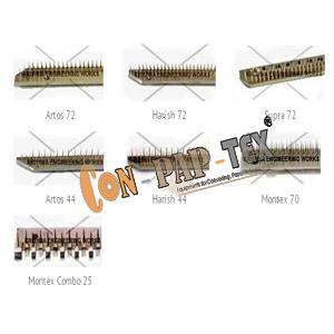 Stenter pin bars, stenter machine pin plate, stenter pin block