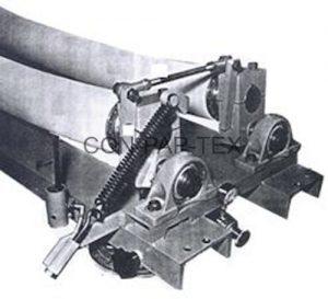 Fabricant web master, machine de dispositif d'alignement de corde de pneu