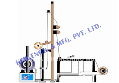 Liner rewinder machine, technical textile machinery, tire cord machine
