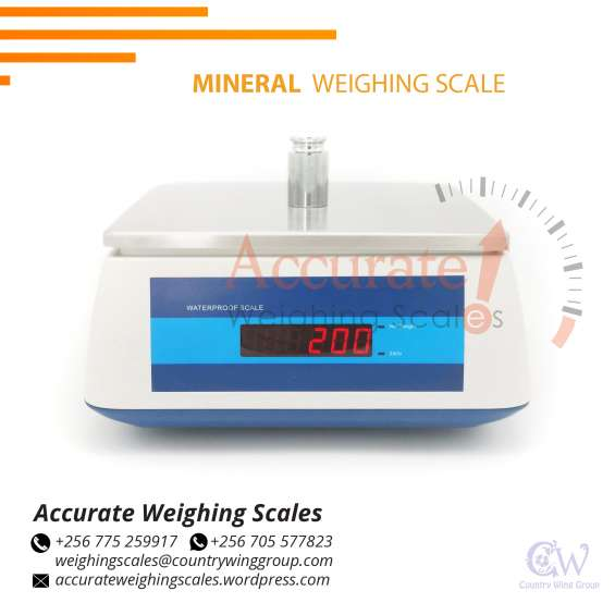 What is the price of stainless-steel lcd-high precision weighing scales in kampala uganda