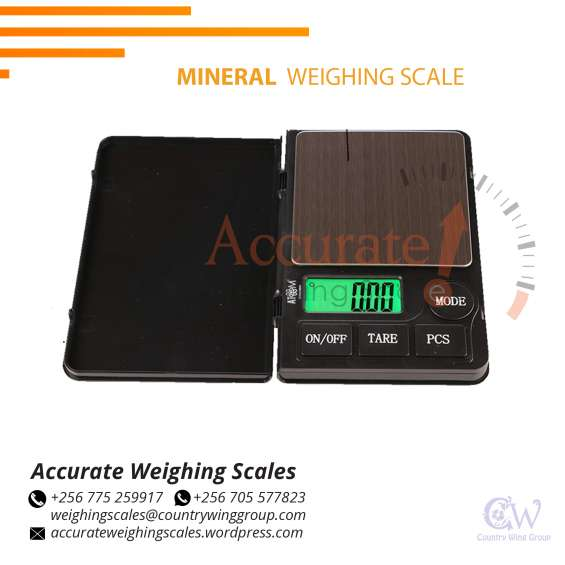 Which distributor shop has high-precision-mineral scale in wandegeya uganda