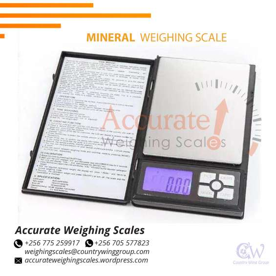Who is the seller of lcd precision mineral scales in kampala uganda